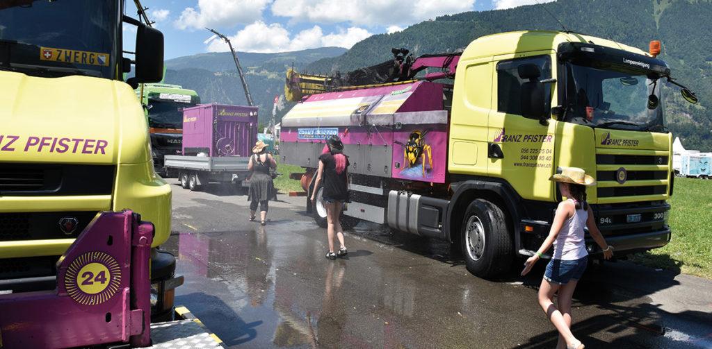 """""""Wasser marsch!"""" in Interlaken"""